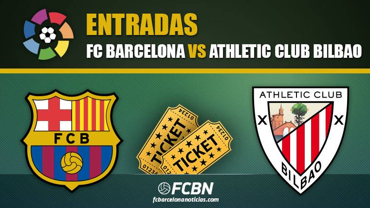 Entradas FC Barcelona vs Athletic Bilbao