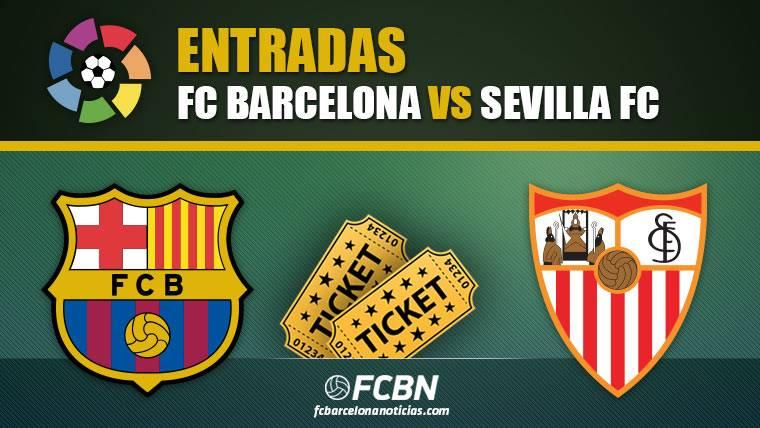 Entradas FC Barcelona vs Sevilla - LaLiga Santander 2018-2019