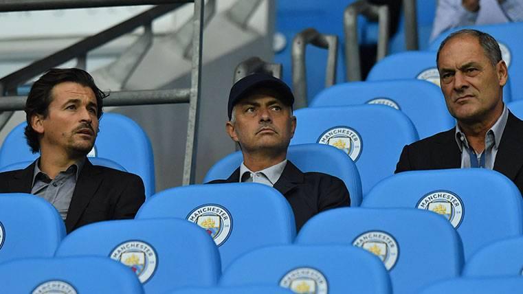José Mourinho y Pep Guardiola, como en los viejos tiempos