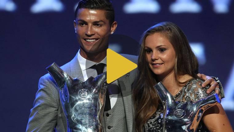 Cristiano y la culé Martens, los mejores de la Champions 16-17
