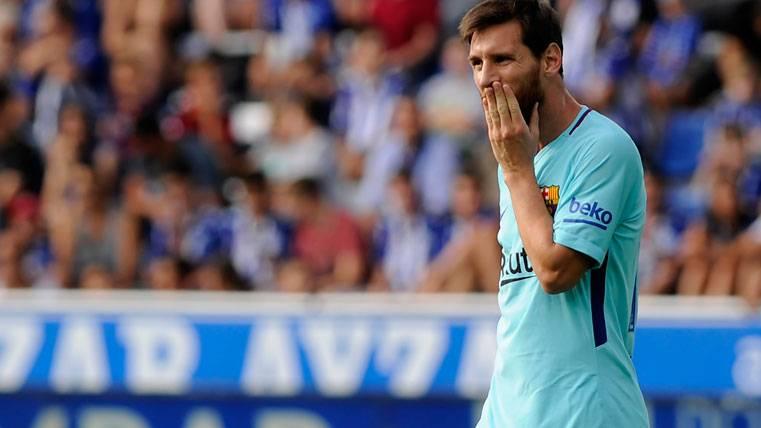 LÁSTIMA: Messi falló un penalti con paradón de Pacheco