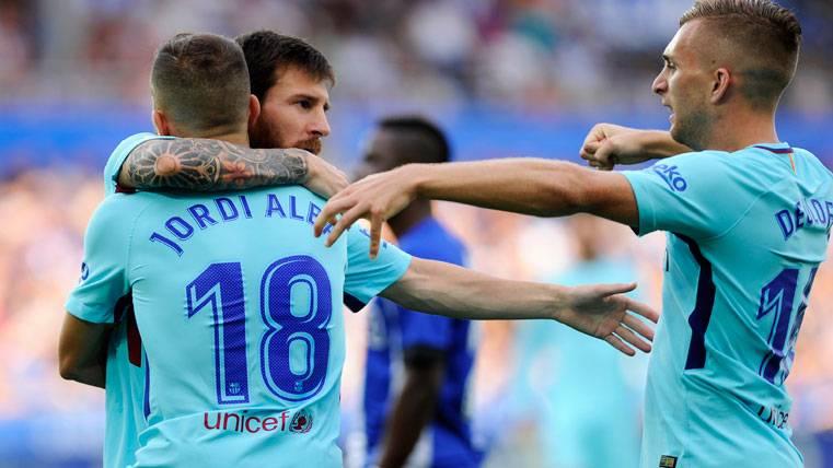 Messi salvó al Barça en Vitoria... ¡Y ya van 351 goles en Liga!