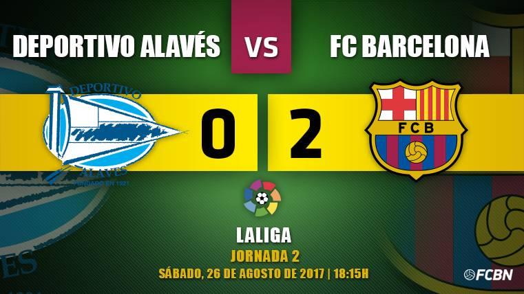 El Barça gana al Alavés con un Messi depredador