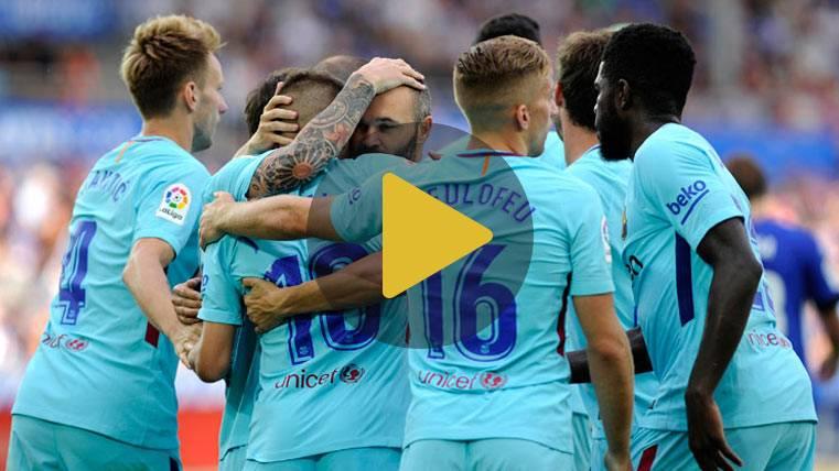Vídeo resumen: Alavés 0 FC Barcelona 2 (LaLiga J2)