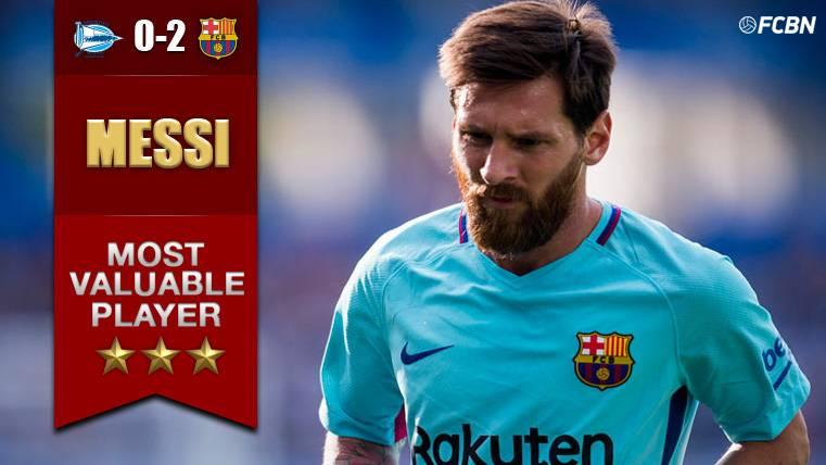 MVP: El Barcelona, 'Messi-dependiente' contra el Alavés