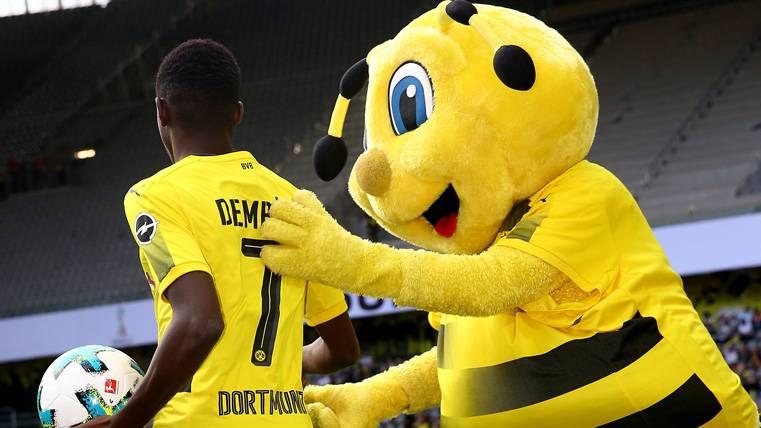 La lesión de Dembélé no afecta al contrato con el Dortmund