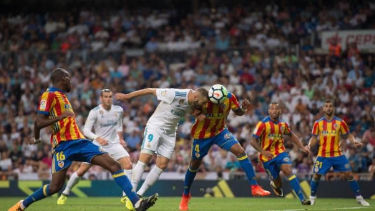 El Madrid no pasa del empate en casa ante el Valencia