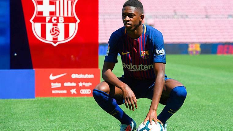 El Barça confía en una rápida adaptación de Dembélé