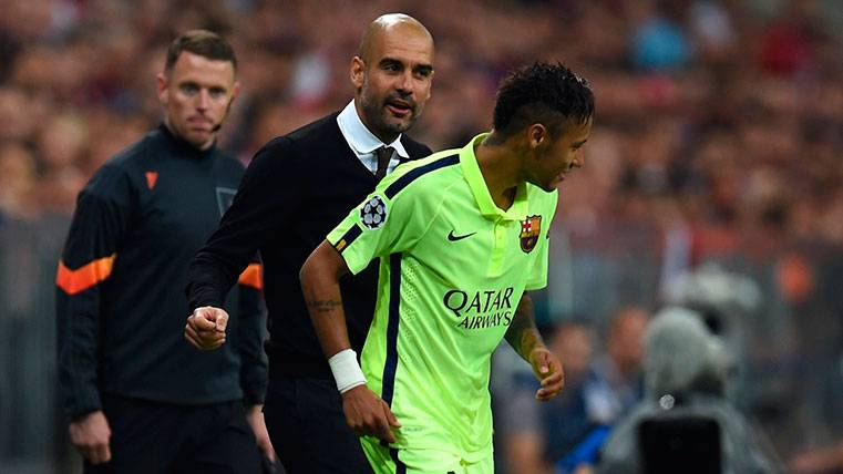 Hoeness afirma que Guardiola quiso a Neymar en el Bayern