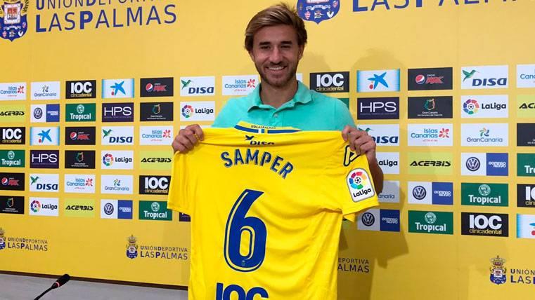La mala suerte se ceba con Samper, lesionado un mes