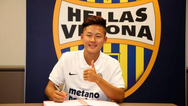 OFICIAL: Lee, al Hellas Verona y con opción de recompra