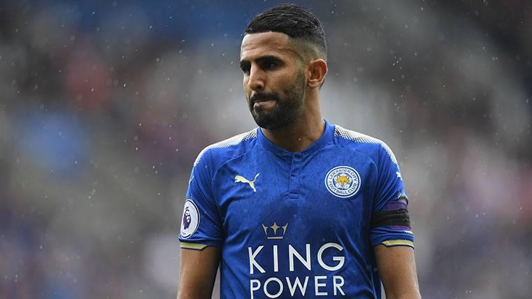 Empiezan a moverse objetivos: Mahrez, ¿lejos del Barça?