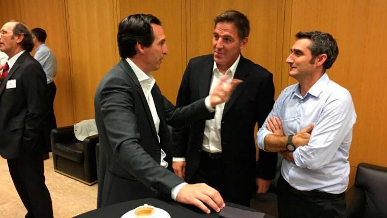 Emery mete en un lío al Barça con una confesión a Valverde