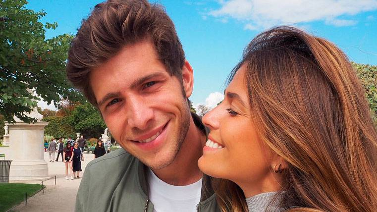 ¡Sergi Roberto y Coral Simanovich anuncian su boda!