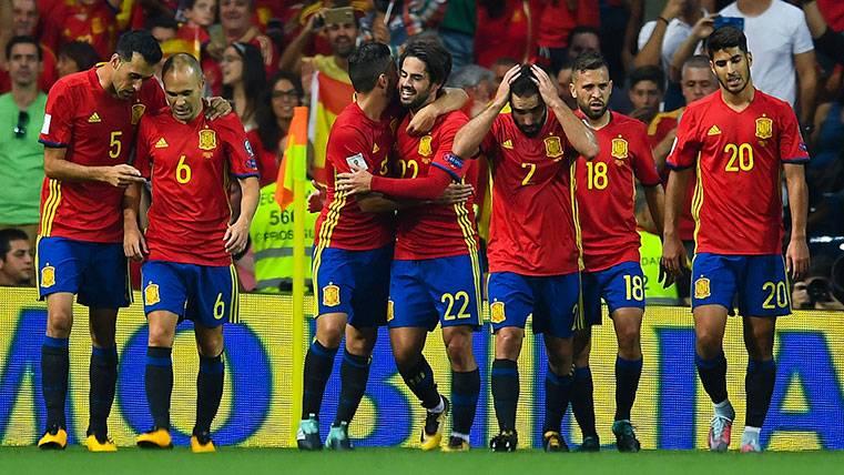 El Barça colabora en una selección que lidera el Madrid