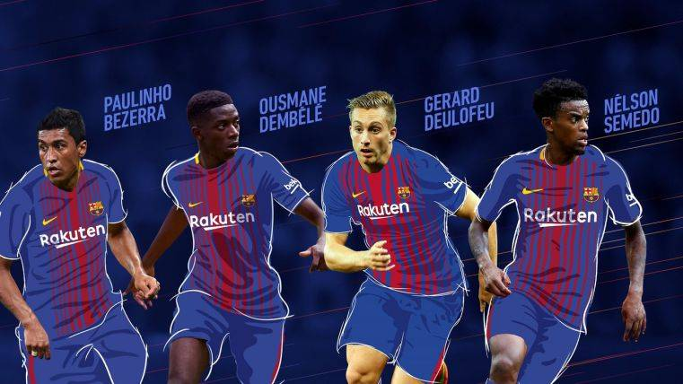 889b8d0da6909 Así quedan los dorsales del FC Barcelona 2017-2018 - FC Barcelona Noticias