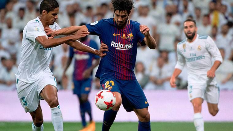 André Gomes, ¿condenado al ostracismo en el FC Barcelona?