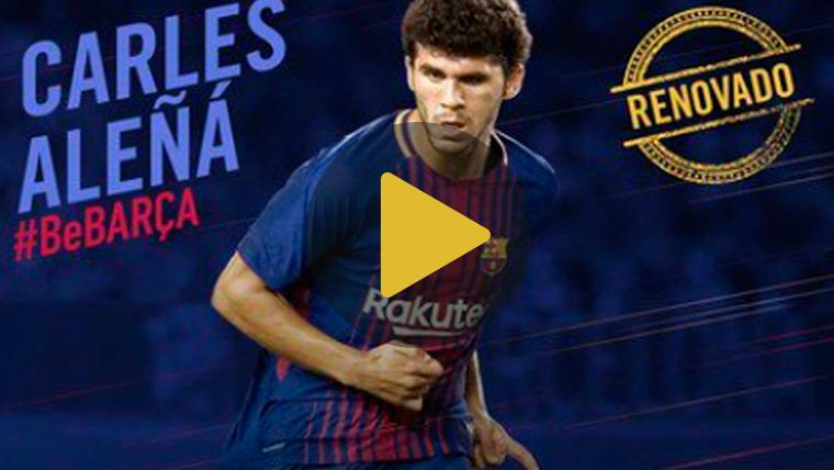 OFICIAL: El Barça se asegura a Carles Aleñá hasta 2020