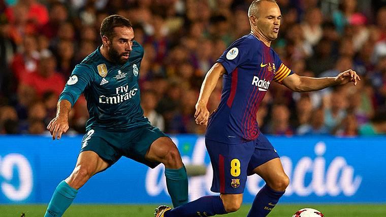 Los contactos entre Iniesta y el FC Barcelona, por escrito