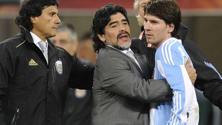 """Valderrama: """"¿Lionel Messi o Maradona? Diego es el mejor"""""""