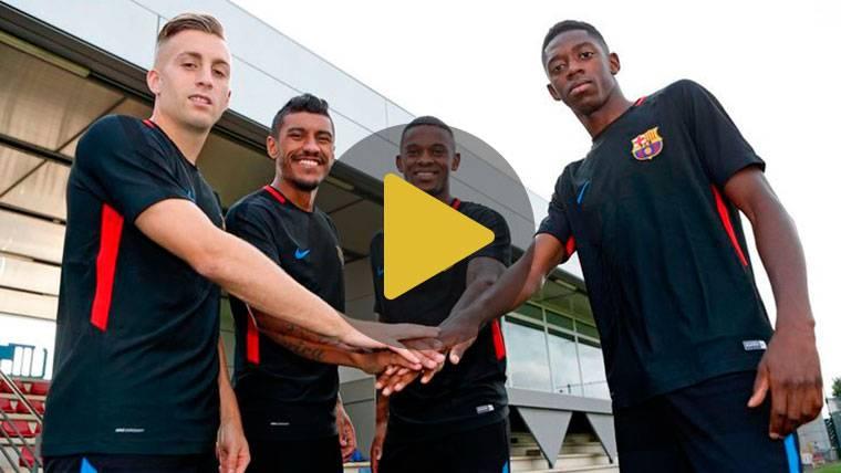 ¿Coincidirán los cuatro fichajes del Barça sobre el césped?