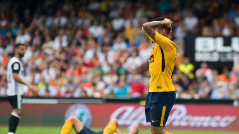El Atlético también se deja puntos ante el Valencia