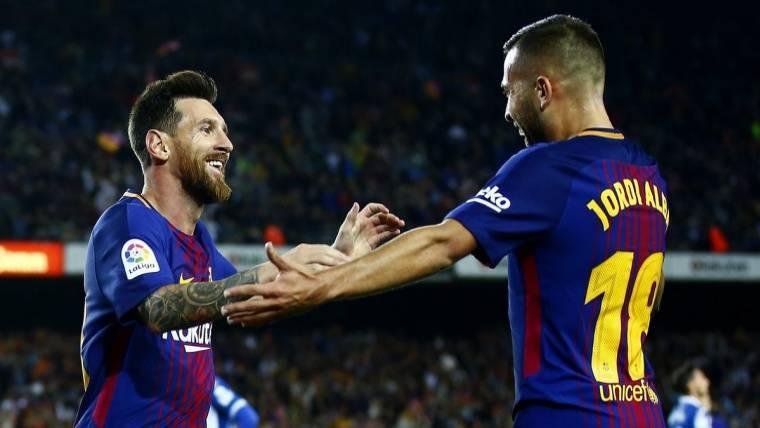 Estos son los pókers de Leo Messi como azulgrana