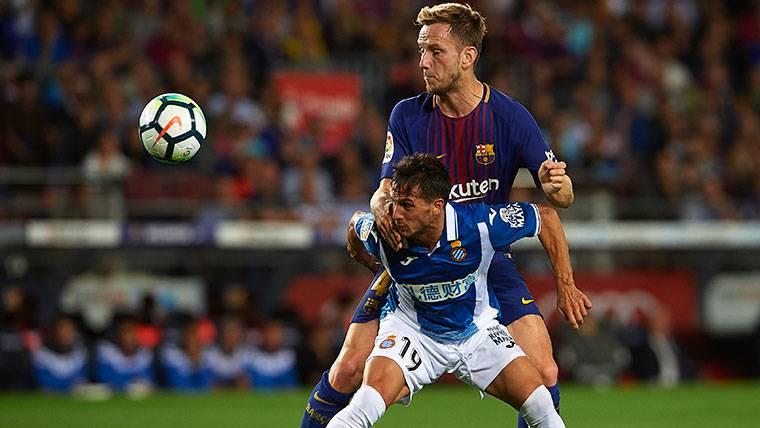 La mejor versión de Rakitic regresó en el Barcelona-Espanyol
