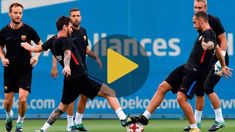 Baja inesperada en el Barcelona para recibir a la Juventus