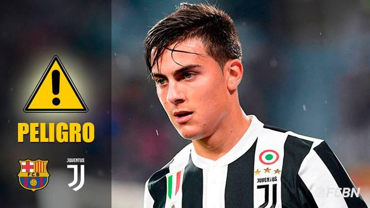 Dybala, el principal peligro de la Juventus para el Barcelona