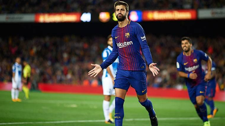 Polémica con la celebración de Piqué contra el Espanyol