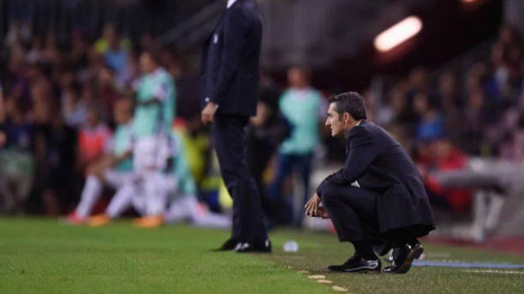 Valverde durante el partido contra la Juventus