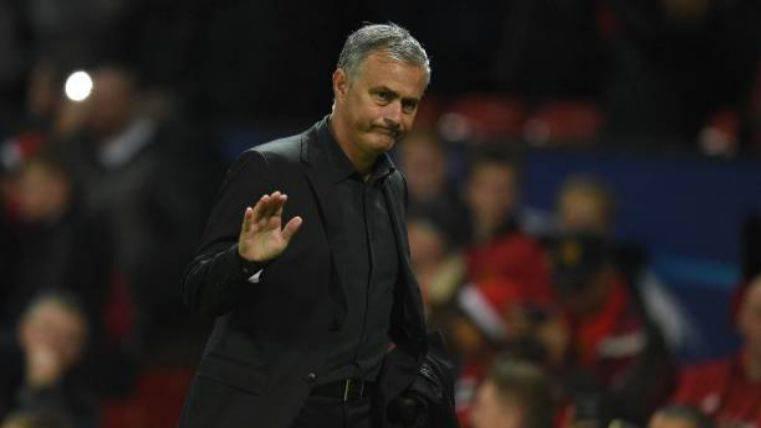 Mourinho en la Champions League ante el Basilea
