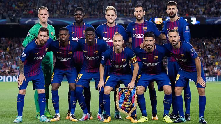 Ya hay once de gala para el FC Barcelona esta temporada