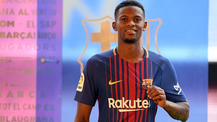 """Semedo, entregado: """"Quiero hacer historia en el Barça"""""""