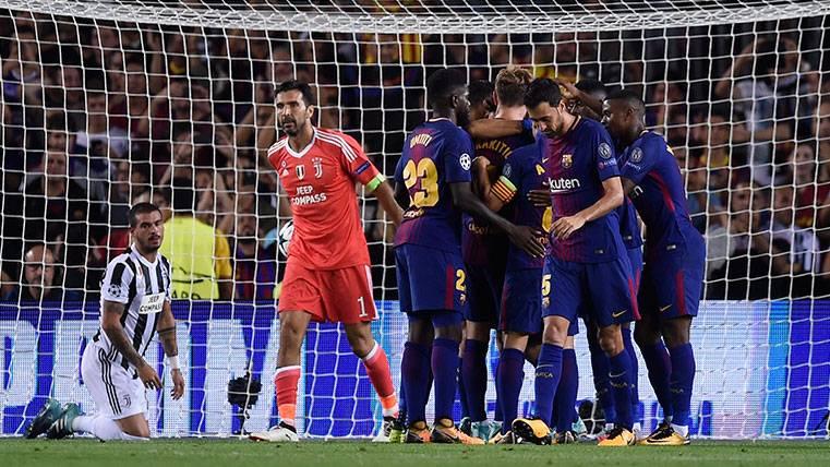 Buffon, enfadado por la derrota y de nuevo rendido a Messi