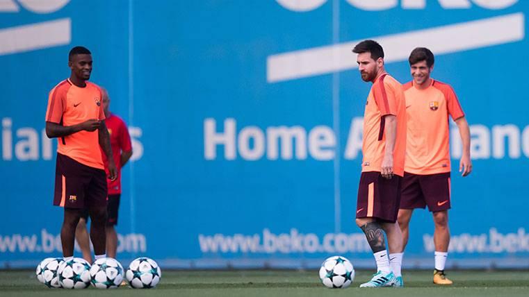 Semedo, protagonista en la gira del Barça, ¡por una novatada!
