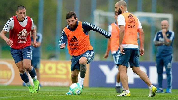 Leo Messi y Mascherano jugarán dos 'finales' en octubre