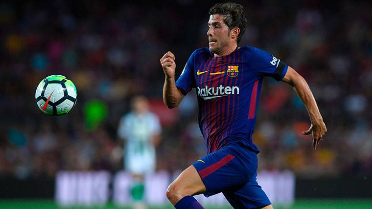 Sergi Roberto pide jugar más minutos urgentemente