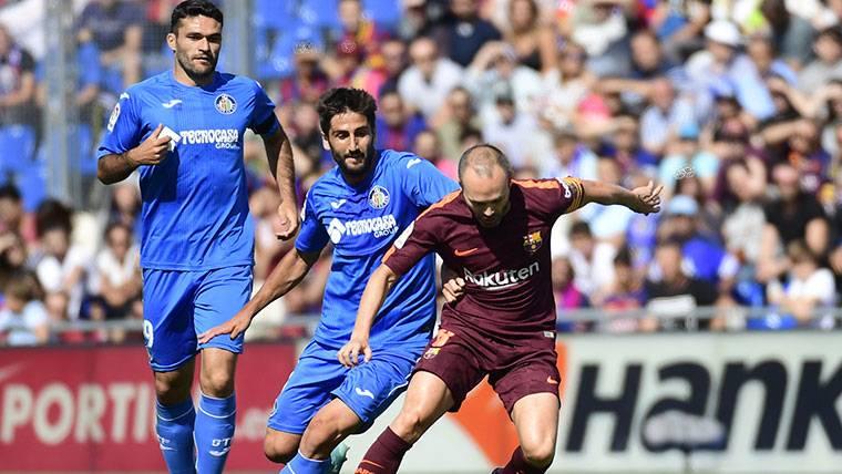 Iniesta, 'señalado' por Valverde tras una mala primera mitad