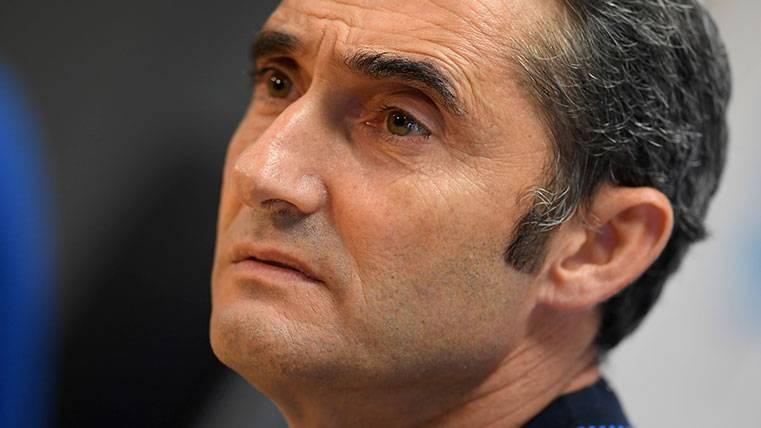 Ernesto Valverde y un lenguaje sereno en rueda de prensa