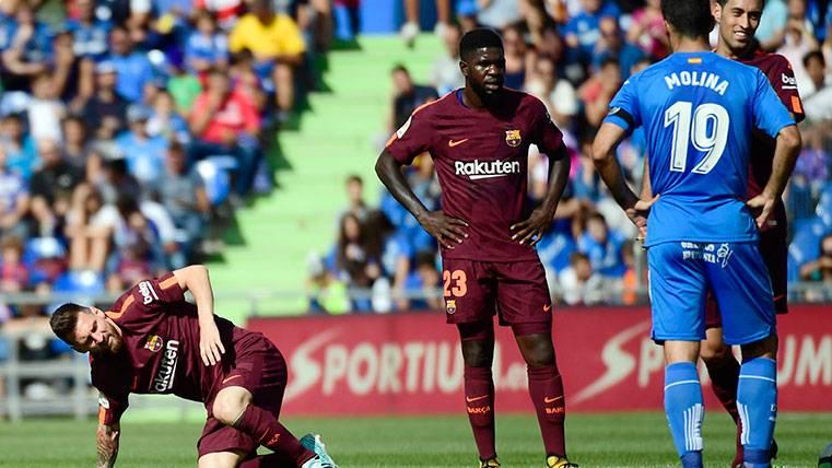 Nunca falla: Umtiti, destacado en la defensa del Barça