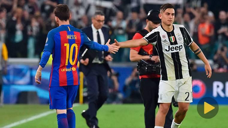 Dybala se sale y pide que no le comparen con Messi