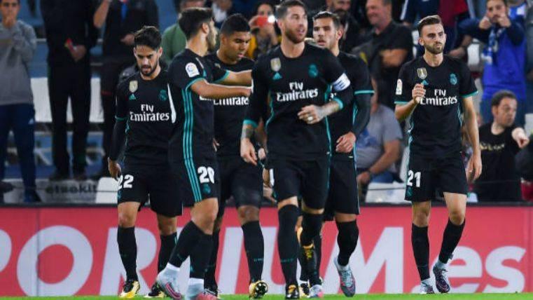La Real Sociedad protesta que hubo falta en el 1-2