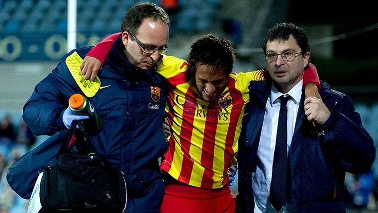 Neymar, el otro fichaje flamante del Barça que cayó en Getafe