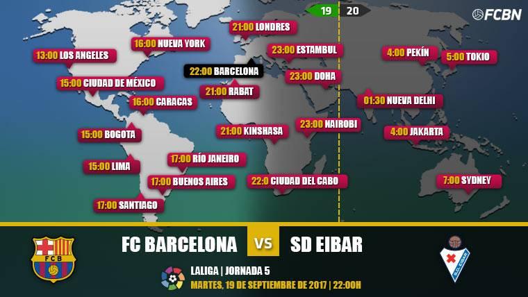 Cuándo y dónde ver el FC Barcelona vs Eibar