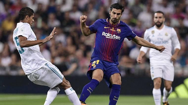¡André Gomes podría dejar el FC Barcelona en invierno!
