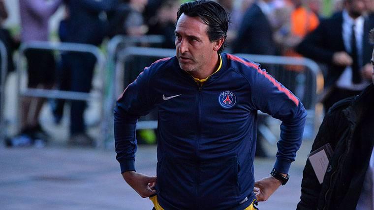 Así afronta Emery el conflicto Neymar-Cavani en el PSG