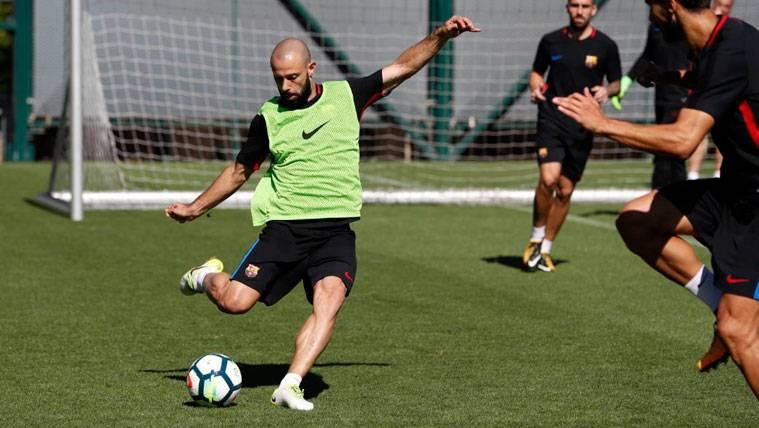 Mascherano se la juega, quiere ser titular en el Camp Nou