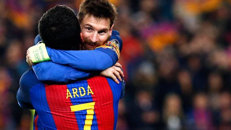 Turan y Vidal son duda para el partido de Copa del Rey